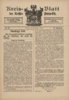 Kreis-Blatt des Kreises Posen-Ost 1915.10.30 Jg.27 Nr59