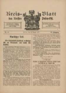 Kreis-Blatt des Kreises Posen-Ost 1915.08.13 Jg.27 Nr42