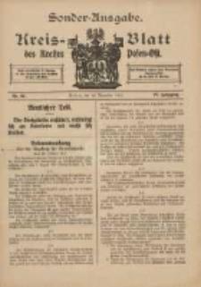 Kreis-Blatt des Kreises Posen-Ost 1915.11.10 Jg.27 Nr62 Sonder Ausgabe