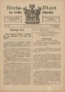 Kreis-Blatt des Kreises Posen-Ost 1915.11.10 Jg.27 Nr63