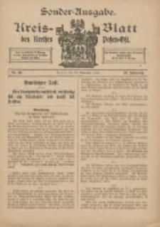 Kreis-Blatt des Kreises Posen-Ost 1915.11.25 Jg.27 Nr65 Sonder Ausgabe