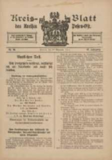 Kreis-Blatt des Kreises Posen-Ost 1915.11.27 Jg.27 Nr66