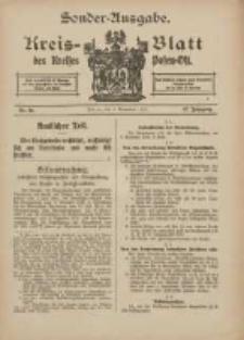 Kreis-Blatt des Kreises Posen-Ost 1915.11.02 Jg.27 Nr60 Sonder Ausgabe