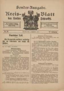 Kreis-Blatt des Kreises Posen-Ost 1915.12.07 Jg.27 Nr69 Sonder Ausgabe