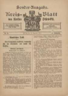 Kreis-Blatt des Kreises Posen-Ost 1915.12.16 Jg.27 Nr71 Sonder Ausgabe