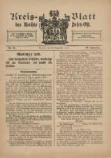 Kreis-Blatt des Kreises Posen-Ost 1915.12.31 Jg.27 Nr73