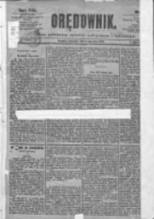 Orędownik: pismo dla spraw politycznych i spółecznych 1899.01.01 R.29 Nr1