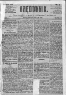 Orędownik: pismo dla spraw politycznych i spółecznych 1899.01.03 R.29 Nr2