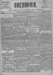 Orędownik: pismo dla spraw politycznych i spółecznych 1899.01.08 R.29 Nr6