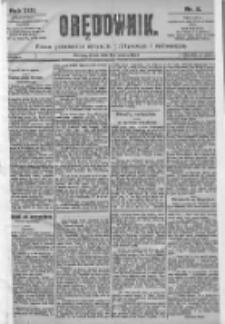 Orędownik: pismo dla spraw politycznych i spółecznych 1899.01.11 R.29 Nr8