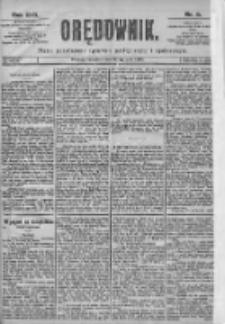 Orędownik: pismo dla spraw politycznych i spółecznych 1899.01.12 R.29 Nr9