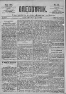 Orędownik: pismo dla spraw politycznych i spółecznych 1899.01.13 R.29 Nr10