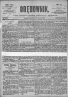 Orędownik: pismo dla spraw politycznych i spółecznych 1899.01.15 R.29 Nr12