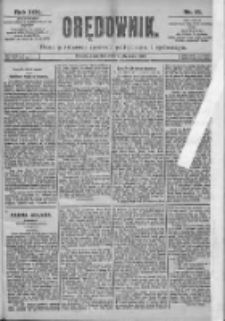 Orędownik: pismo dla spraw politycznych i spółecznych 1899.01.19 R.29 Nr15