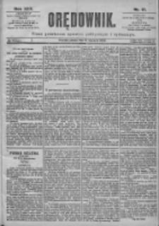 Orędownik: pismo dla spraw politycznych i spółecznych 1899.01.21 R.29 Nr17