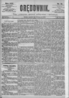 Orędownik: pismo dla spraw politycznych i spółecznych 1899.01.22 R.29 Nr18