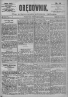 Orędownik: pismo dla spraw politycznych i spółecznych 1899.01.25 R.29 Nr20