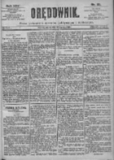 Orędownik: pismo dla spraw politycznych i spółecznych 1899.01.31 R.29 Nr25