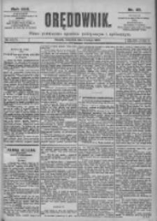 Orędownik: pismo dla spraw politycznych i spółecznych 1899.02.02 R.29 Nr27