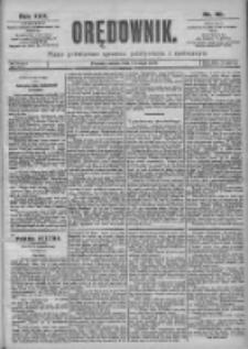 Orędownik: pismo dla spraw politycznych i spółecznych 1899.02.04 R.29 Nr28