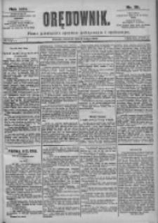 Orędownik: pismo dla spraw politycznych i spółecznych 1899.02.05 R.29 Nr29