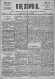 Orędownik: pismo dla spraw politycznych i spółecznych 1899.02.11 R.29 Nr34