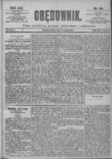Orędownik: pismo dla spraw politycznych i spółecznych 1899.02.14 R.29 Nr36