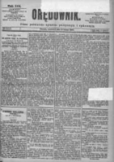 Orędownik: pismo dla spraw politycznych i spółecznych 1899.02.16 R.29 Nr38