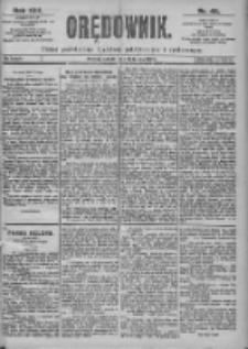 Orędownik: pismo dla spraw politycznych i spółecznych 1899.02.18 Nr29 Nr40