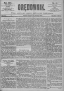 Orędownik: pismo dla spraw politycznych i spółecznych 1899.02.19 R.29 Nr41
