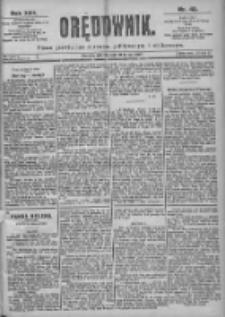 Orędownik: pismo dla spraw politycznych i spółecznych 1899.02.21 R.29 Nr42
