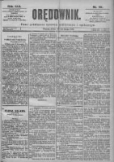 Orędownik: pismo dla spraw politycznych i spółecznych 1899.02.22 R.29 Nr43