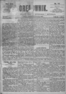 Orędownik: pismo dla spraw politycznych i spółecznych 1899.02.23 R.29 Nr44