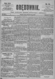 Orędownik: pismo dla spraw politycznych i spółecznych 1899.02.25 R.29 Nr46