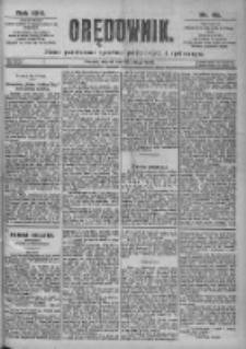 Orędownik: pismo dla spraw politycznych i spółecznych 1899.02.28 R.29 Nr48