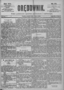 Orędownik: pismo dla spraw politycznych i spółecznych 1899.03.05 R.29 Nr53