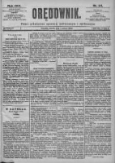 Orędownik: pismo dla spraw politycznych i spółecznych 1899.03.07 R.29 Nr54