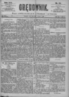 Orędownik: pismo dla spraw politycznych i spółecznych 1899.03.09 R.29 Nr56