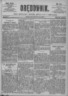 Orędownik: pismo dla spraw politycznych i spółecznych 1899.03.10 R.29 Nr57