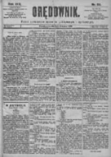 Orędownik: pismo dla spraw politycznych i spółecznych 1899.03.13 R.29 Nr59