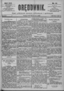 Orędownik: pismo dla spraw politycznych i spółecznych 1899.03.15 R.29 Nr61