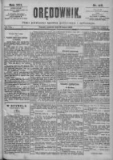 Orędownik: pismo dla spraw politycznych i spółecznych 1899.03.16 R.29 Nr62