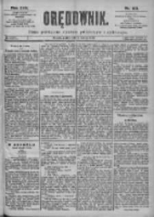 Orędownik: pismo dla spraw politycznych i spółecznych 1899.03.17 R.29 Nr63