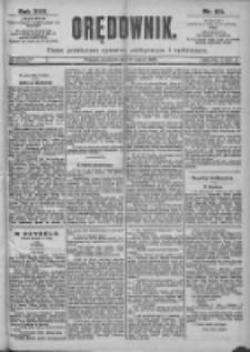 Orędownik: pismo dla spraw politycznych i spółecznych 1899.03.19 R.29 Nr65