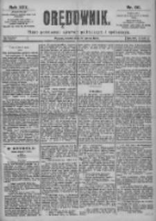 Orędownik: pismo dla spraw politycznych i spółecznych 1899.03.14 R.29 Nr60