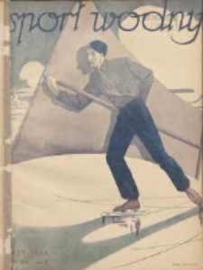 Sport Wodny: dwutygodnik poświęcony sprawom wioślarstwa, żeglarstwa, pływactwa, turystyki wodnej i jachtingu motorowego 1938.02 R.14 Nr2