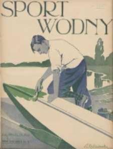 Sport Wodny: dwutygodnik poświęcony sprawom wioślarstwa, żeglarstwa, pływactwa, turystyki wodnej i jachtingu motorowego 1938.05 R.14 Nr8