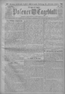 Posener Tageblatt 1913.10.23 Jg.52 Nr496