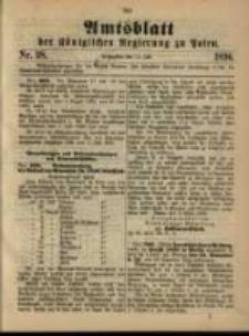 Amtsblatt der Königlichen Regierung zu Posen. 1896.07.14 Nro.28