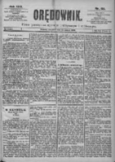 Orędownik: pismo dla spraw politycznych i spółecznych 1899.03.23 R.29 Nr68